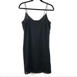 H&M CONSCIOUS - DIVIDED Black Dress Women's Size 8